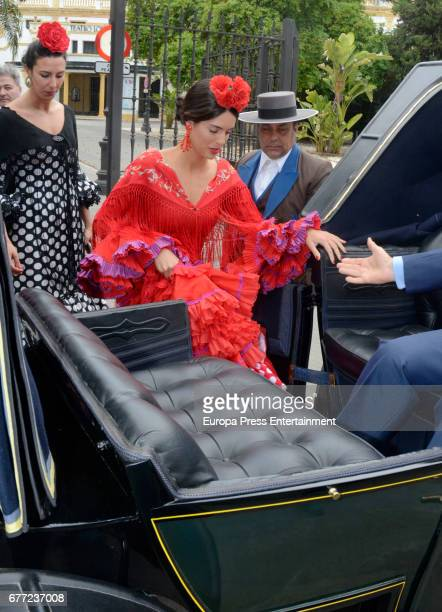 Sofia Palazuelo attends 2017 April's Fair on April 30 2017 in Seville Spain