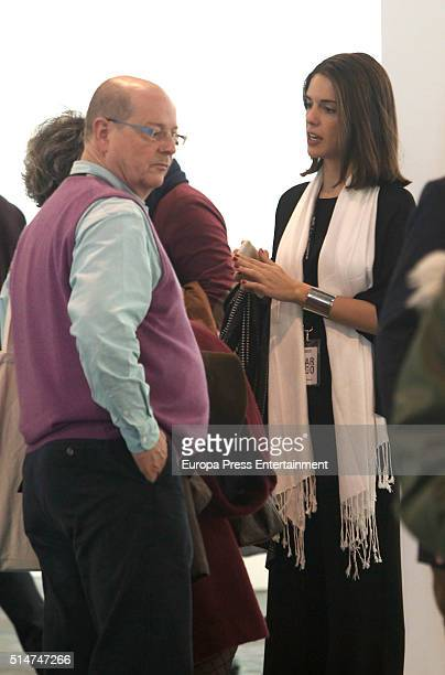 Sofia Palazuelo attends the International Contemporary Art Fair ARCO 2016 at Ifema on February 26 2016 in Madrid Spain