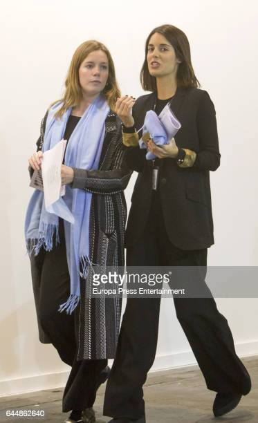 Sofia Palazuelo attends the International Contemporary Art Fair ARCO 2017 at Ifema on February 22 2017 in Madrid Spain