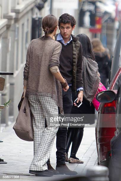 Sofia Palazuelo is seen on May 13 2016 in Madrid Spain