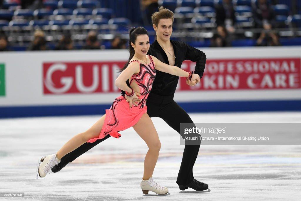 Софья Полищук-Александр Вахнов - Страница 5 Sofia-polishchuk-and-alexander-vakhnov-of-russia-compete-in-the-ice-picture-id888078106