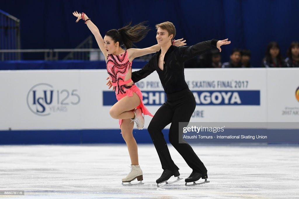 Софья Полищук-Александр Вахнов - Страница 5 Sofia-polishchuk-and-alexander-vakhnov-of-russia-compete-in-the-ice-picture-id888078116
