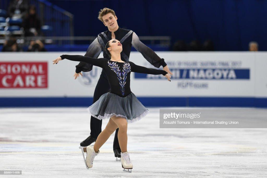 Софья Полищук-Александр Вахнов - Страница 5 Sofia-polishchuk-and-alexander-vakhnov-of-russia-compete-in-the-ice-picture-id888641468