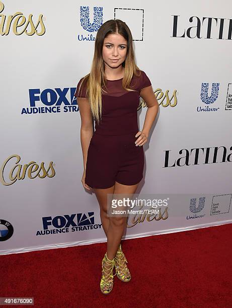 Sofia Reyes attends the Latina 'Hot List' Party hosted by Latina Media Ventures at The London West Hollywood on October 6 2015 in West Hollywood...