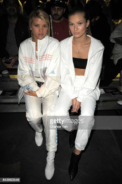 Sofia Richie and Josie Marie Canseco attend Kith Sport fashion show during New York Fashion Week at the Classic Car Club on September 7 2017 in New...