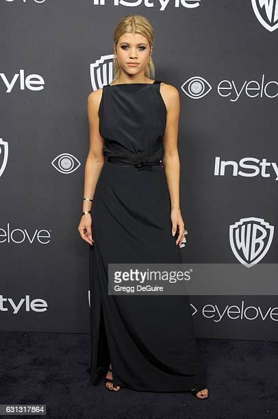 Sofia Richie arrives at the 18th Annual PostGolden Globes Party hosted by Warner Bros Pictures and InStyle at The Beverly Hilton Hotel on January 8...