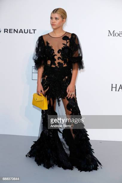 Sofia Richie arrives at the amfAR Gala Cannes 2017 at Hotel du CapEdenRoc on May 25 2017 in Cap d'Antibes France
