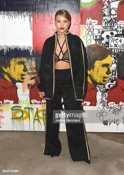 Sofia Richie at the TommyLand Tommy Hilfiger Spring 2017 Fashion Show on February 8 2017 in Venice California