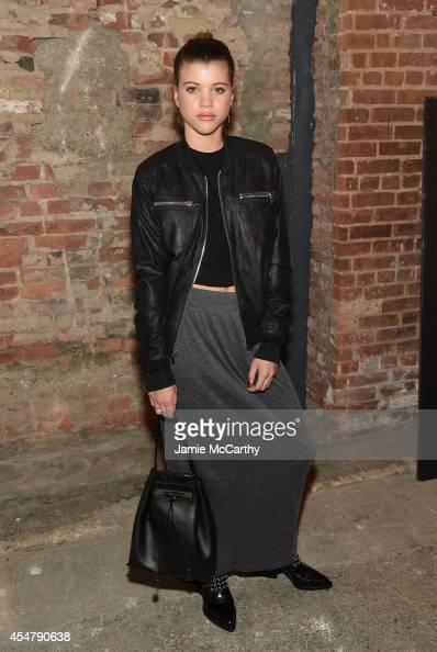 Sofia Richie attends Christian Siriano during MercedesBenz Fashion Week Spring 2015 at Eyebeam Atelier on September 6 2014 in New York City