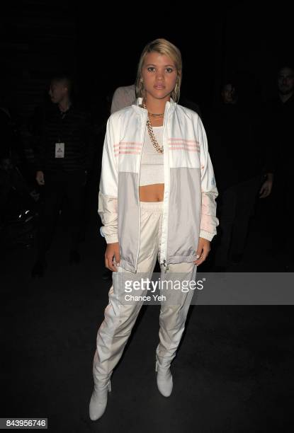 Sofia Richie attends Kith Sport fashion show during New York Fashion Week at the Classic Car Club on September 7 2017 in New York City