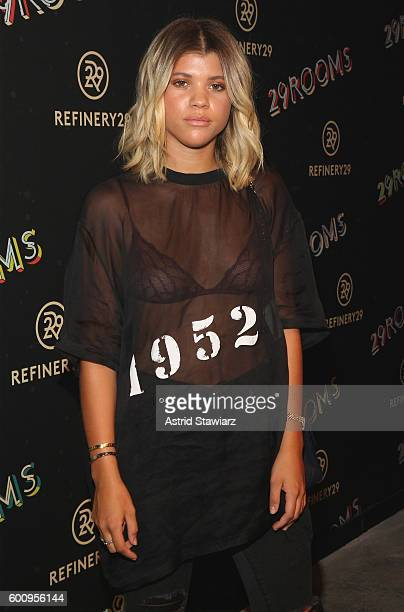 Sofia Richie attends Refinery29's Second Annual New York Fashion Week Event '29Rooms' on September 8 2016 in Brooklyn New York