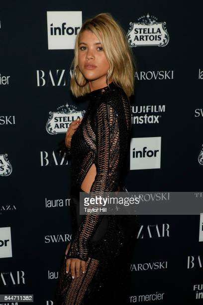 Sofia Richie attends the 2017 Harper ICONS party at The Plaza Hotel on September 8 2017 in New York City