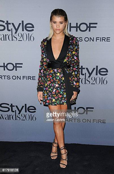 Sofia Richie attends the 2nd annual InStyle Awards at Getty Center on October 24 2016 in Los Angeles California