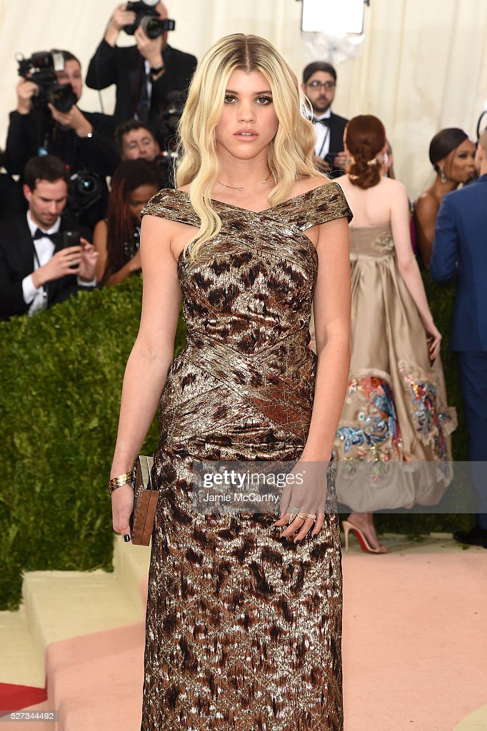 Sofia Richie attends the 'Manus x Machina: Fashion In An Age Of Technology' Costume Institute Gala at Metropolitan Museum of Art on May 2, 2016 in New York City.