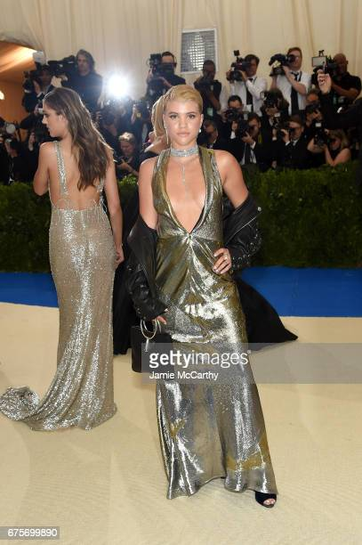 Sofia Richie attends the 'Rei Kawakubo/Comme des Garcons Art Of The InBetween' Costume Institute Gala at Metropolitan Museum of Art on May 1 2017 in...