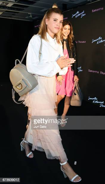 Sofia Richie attends the Samantha Thavasa Millennial Stars Fashion Event on April 27 2017 in Tokyo Japan