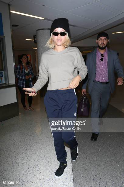 Sofia Richie is seen at LAX on June 08 2017 in Los Angeles California
