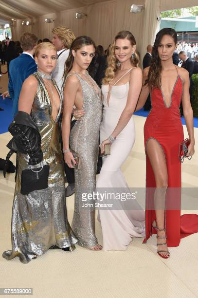 Sofia Richie Sistine Stallone Behati Prinsloo and Joan Smalls attend the 'Rei Kawakubo/Comme des Garcons Art Of The InBetween' Costume Institute Gala...