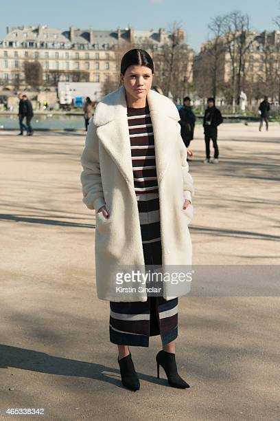 Sofia Richie wears all Carven on day 3 of Paris Collections Women on March 05 2015 in Paris France
