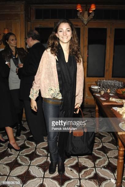 Sofia Sanchez attends CLIFFORD ROSS postopening dinner at Morandi Restaurant on October 24 2009 in New York City