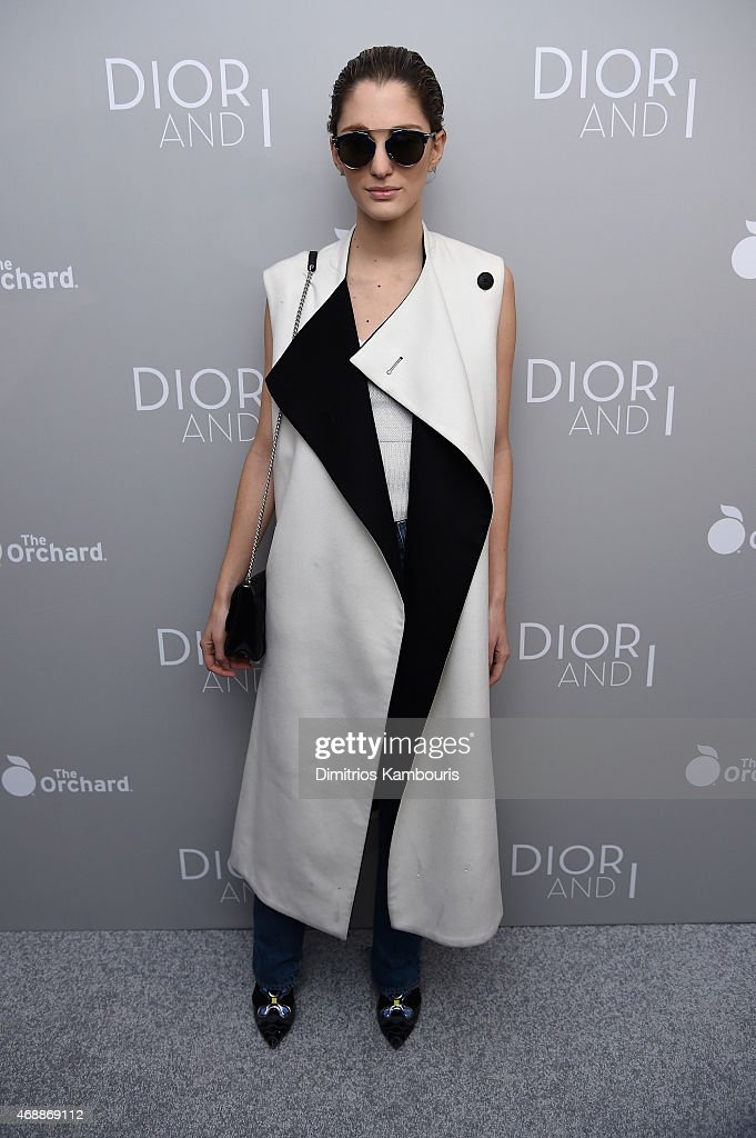 Sofia Sanchez attends the Dior And I NY Premiere on April 7 2015 in New York City