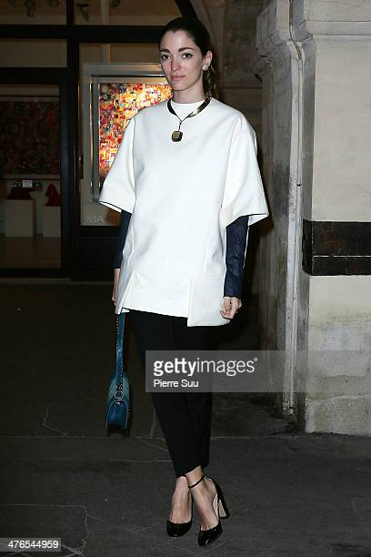 Sofia Sanchez Barrenechea attends the Launch OF D'NA On Farfetch on March 3 2014 in Paris France