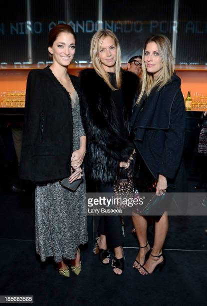 Sofia Sanchez Barrenechea Meredith Melling and Valerie Boster attend PRADA Journal A Literary Contest In Collaboration With Feltrinelli Editore at...