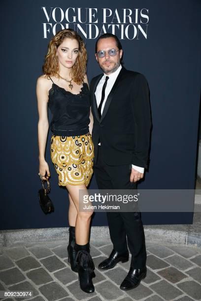 Sofia Sanchez de Betak and Alexandre de Betak attend Vogue Foundation Dinner during Paris Fashion Week as part of Haute Couture Fall/Winter 20172018...