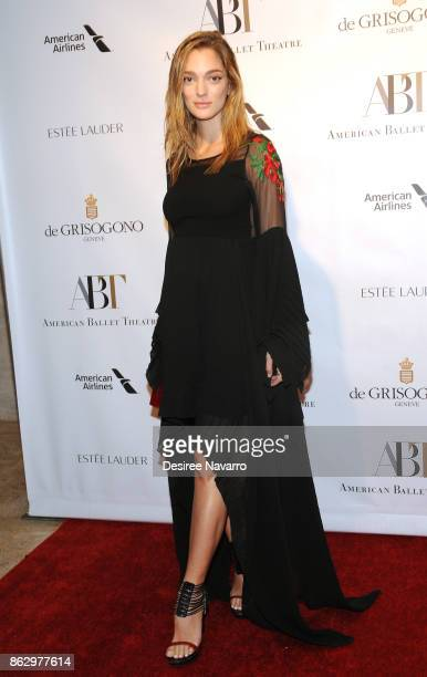 Sofia Sanchez de Betak attends 2017 American Ballet Theatre Fall Gala at David H Koch Theater at Lincoln Center on October 18 2017 in New York City