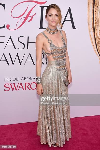 Sofia Sanchez de Betak attends the 2016 CFDA Fashion Awards at the Hammerstein Ballroom on June 6 2016 in New York City