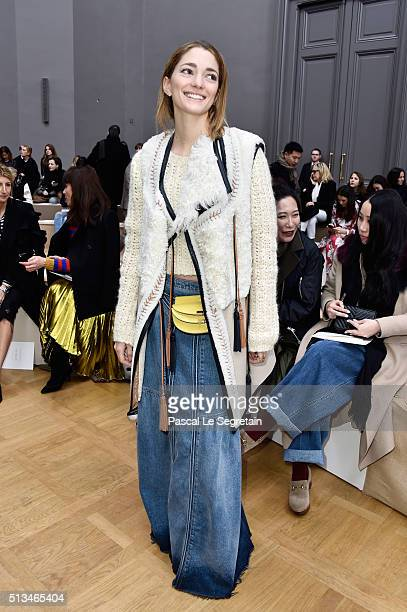 Sofia Sanchez de Betak attends the Chloe show as part of the Paris Fashion Week Womenswear Fall/Winter 2016/2017 on March 3 2016 in Paris France