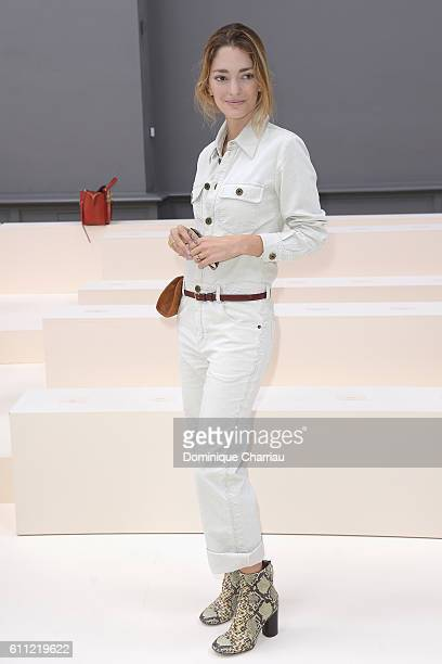 Sofia Sanchez de Betak attends the Chloe show as part of the Paris Fashion Week Womenswear Spring/Summer 2017 on September 29 2016 in Paris France