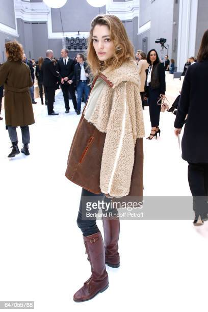Sofia Sanchez de Betak attends the Chloe show as part of the Paris Fashion Week Womenswear Fall/Winter 2017/2018 on March 2 2017 in Paris France