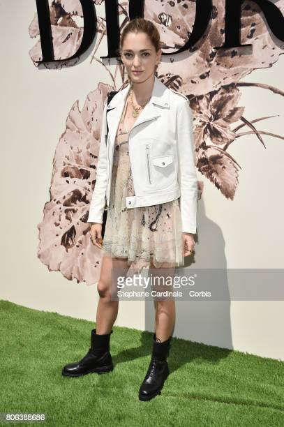 Sofia Sanchez de Betak attends the Christian Dior Haute Couture Fall/Winter 20172018 show as part of Haute Couture Paris Fashion Week on July 3 2017...