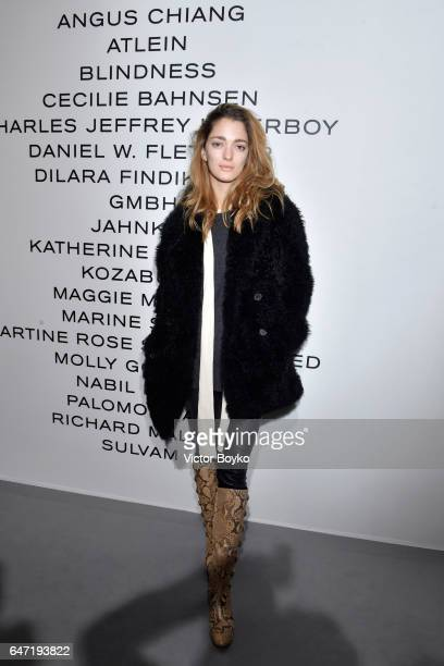 Sofia Sanchez de Betak attends the Cocktail Reception For The LVMH PRIZE 2017 on March 2 2017 in Paris France