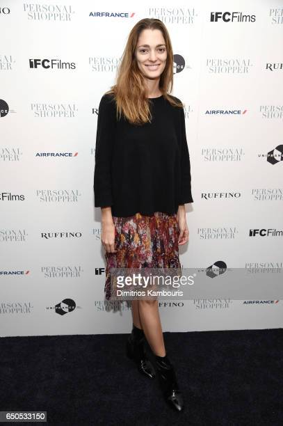 Sofia Sanchez de Betak attends the 'Personal Shopper' premiere at Metrograph on March 9 2017 in New York City