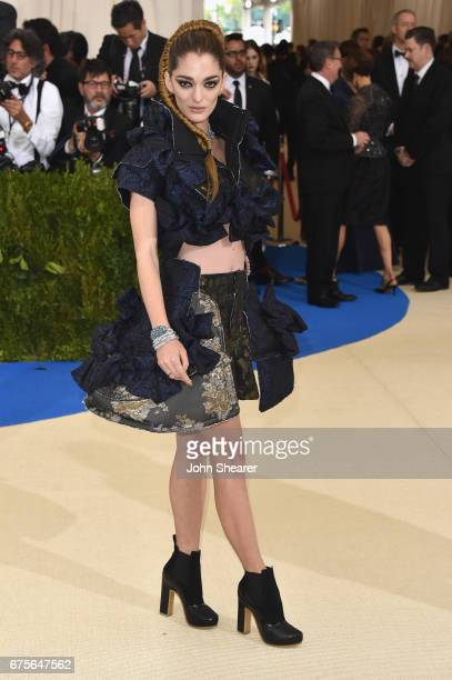 Sofia Sanchez de Betak attends the 'Rei Kawakubo/Comme des Garcons Art Of The InBetween' Costume Institute Gala at Metropolitan Museum of Art on May...