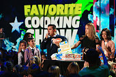 Sofia Valastro Marco Valastro Buddy Valastro Jr TV personality Buddy Valastro accepts the Favorite Cooking Show Award for 'Cake Boss' from actresses...