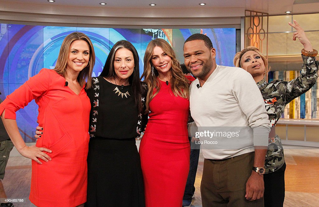 THE VIEW Sofia Vergara and Anthony Anderson are the guests today Wednesday September 23 2015 on ABC's 'The View' 'The View' airs MondayFriday on the...