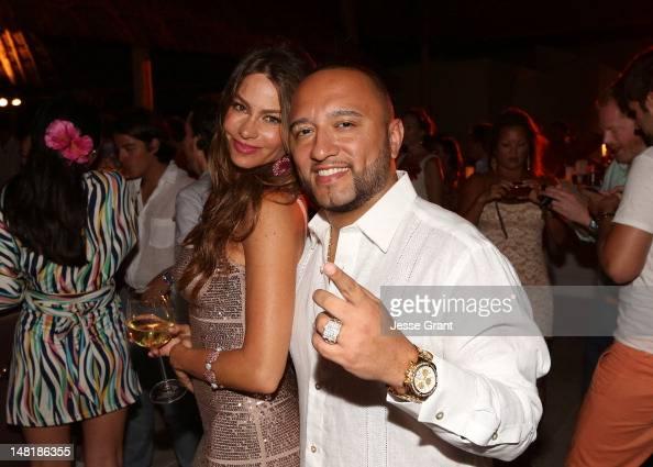 Sofia Vergara and DJ Alex Sensation celebrate Sofia Vergara's 40th ...