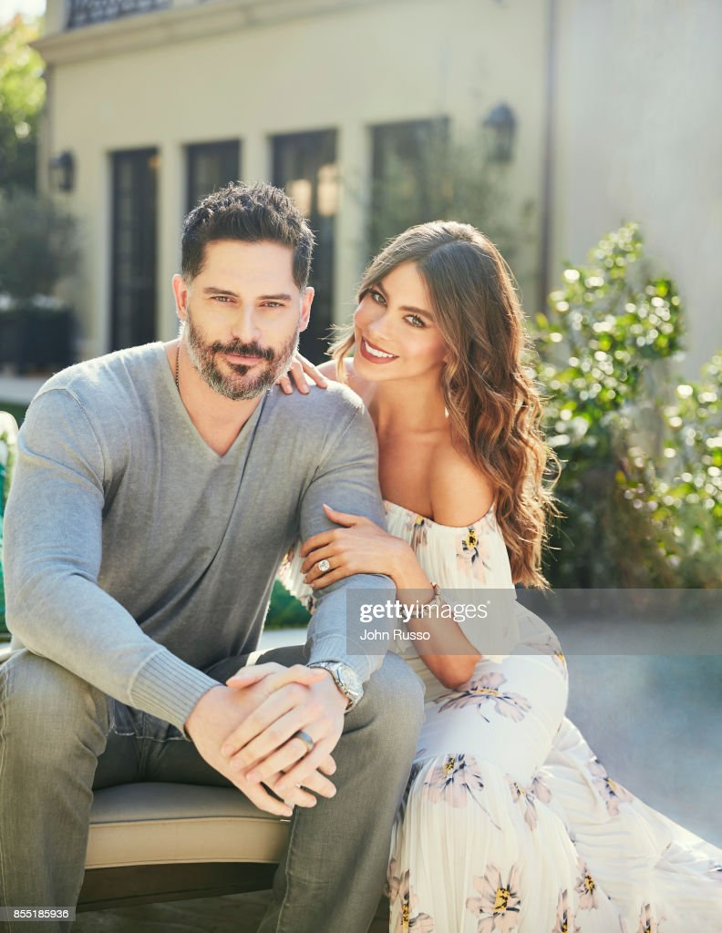 Sofia Vergara and Joe Manganiello are photographed in their home for Hola Magazine on December 8, 2016 in Los Angeles, California. COVER