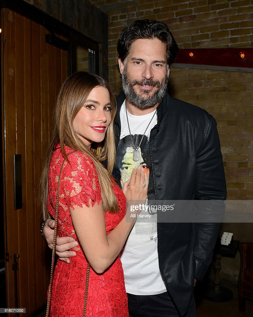 Sofia Vergara and Joe Manganiello attend Netflix presents the world premiere of 'Peewee's Big Holiday' at SXSW March 17 2016 in Austin Texas