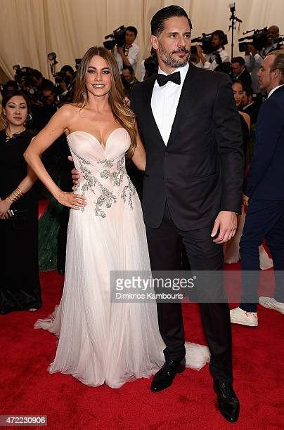 Sofia Vergara and Joe Manganiello attend the 'China Through The Looking Glass' Costume Institute Benefit Gala at the Metropolitan Museum of Art on...