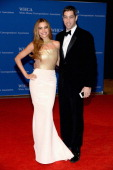 Sofia Vergara and Nick Loeb attend the 100th Annual White House Correspondents' Association Dinner at the Washington Hilton on May 3 2014 in...