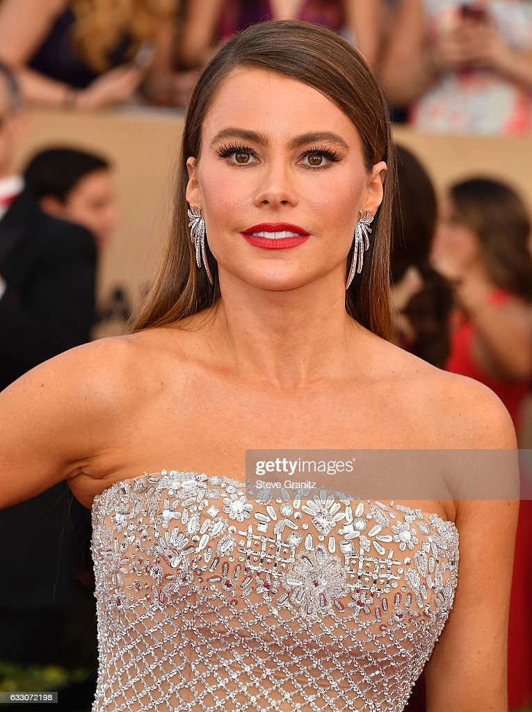 Sofia Vergara arrives at the 23rd Annual Screen Actors Guild Awards at The Shrine Expo Hall on January 29, 2017 in Los Angeles, California.