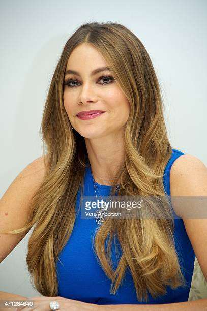 Sofia Vergara at the 'Hot Pursuit' Press Conference at the Four Seasons Hotel on April 25 2015 in Beverly Hills California