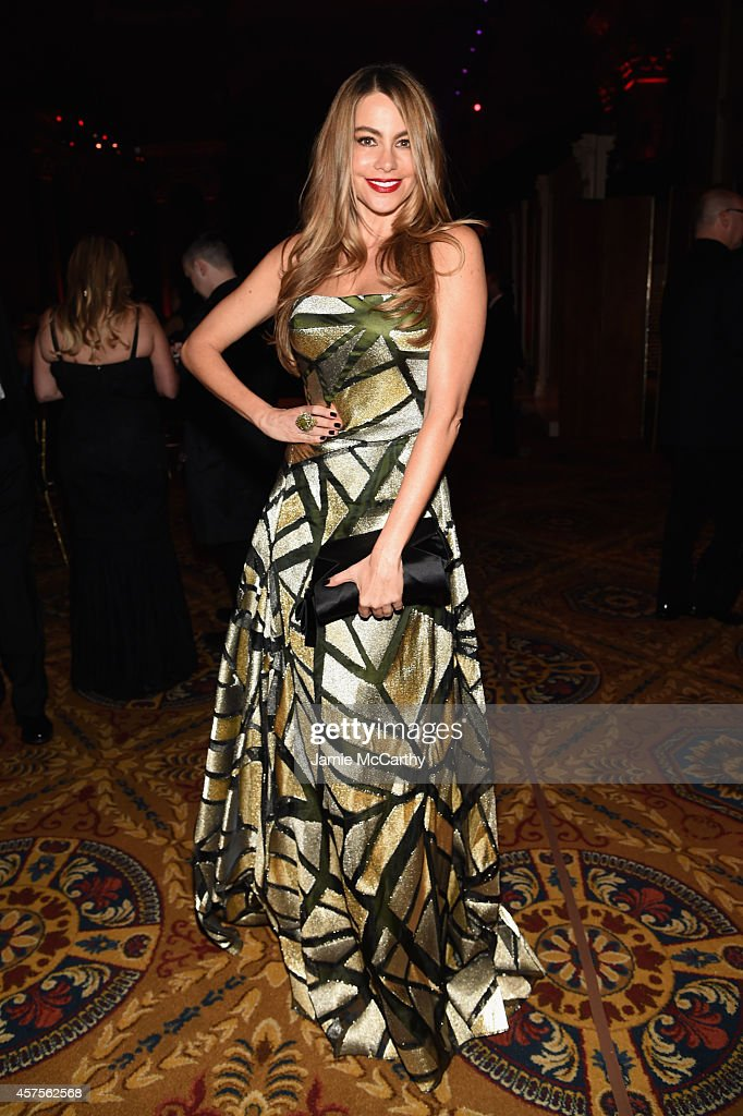 Sofia Vergara attends Angel Ball 2014 hosted by Gabrielle's Angel Foundation at Cipriani Wall Street on October 20 2014 in New York City