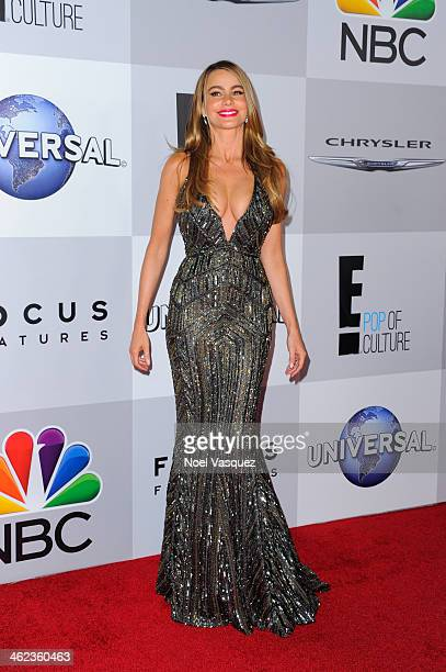 Sofia Vergara attends NBC Universal's 71st Annual Golden Globe Awards After Party at The Beverly Hilton Hotel on January 12 2014 in Beverly Hills...