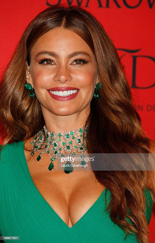 <a gi-track='captionPersonalityLinkClicked' href=/galleries/search?phrase=Sofia+Vergara&family=editorial&specificpeople=214702 ng-click='$event.stopPropagation()'>Sofia Vergara</a> attends the 2013 CFDA Fashion Awards on June 3, 2013 in New York, United States.