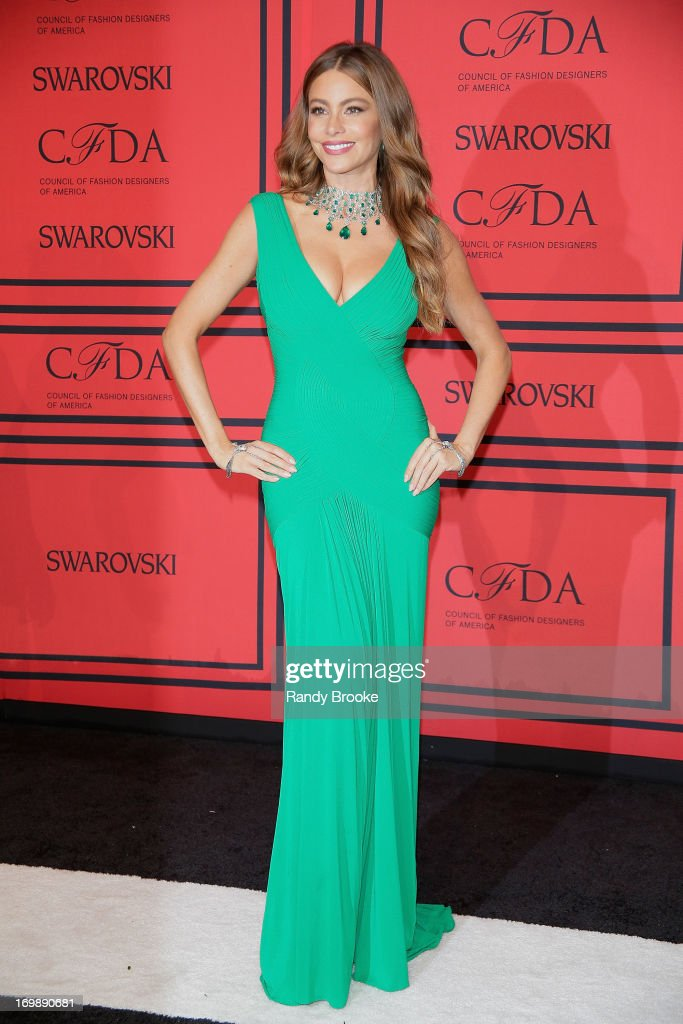 <a gi-track='captionPersonalityLinkClicked' href=/galleries/search?phrase=Sofia+Vergara&family=editorial&specificpeople=214702 ng-click='$event.stopPropagation()'>Sofia Vergara</a> attends the 2013 CFDA Fashion Awardson June 3, 2013 in New York, United States.